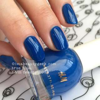 H&M Nail Polish - Blue