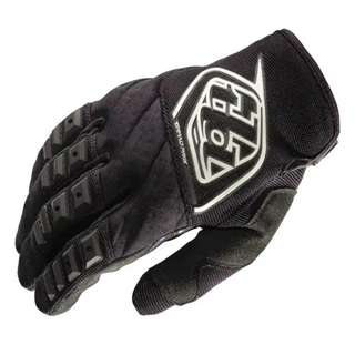 🆕! Troy Lee Designs Racing 🏁 Black Full Finger Gloves