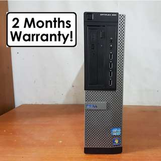 [Core I7 Gen2 CPU] Dell Optiplex 990: 4 Core 8 Threads! Up to 3.8Ghz!