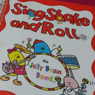 Sing shake and roll cd
