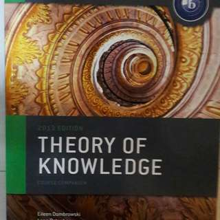 Theory of Knowledge Course Companion