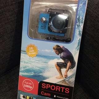 Sport Cam (Blue)