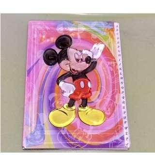 Notebook Mickey HK