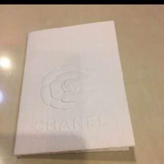 Chanel receipt holder