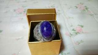 紫龍晶925銀戒