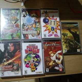 Psp UMD games for sale
