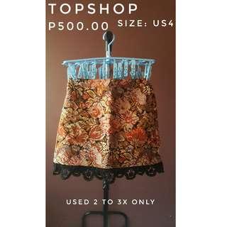 Topshop Skirt (preloved)