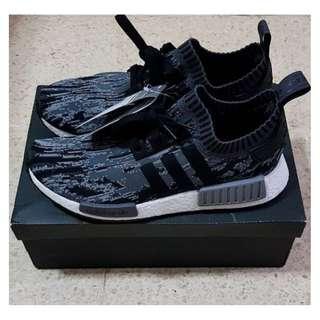 Adidas NMD R1 Core Black Grey Three