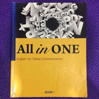 🚚 All in ONE 大學 英文 BOOK 1