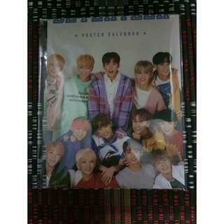 WTS Seventeen SG Poster Calendar