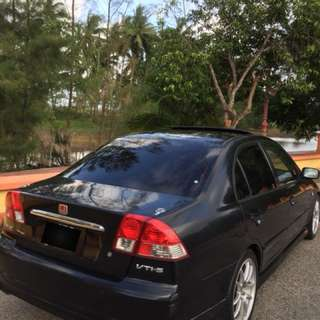 Honda civic 1.7 2005
