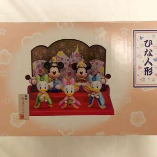 東京海洋迪士尼Mickey / Minnie迪士尼人物和服擺設