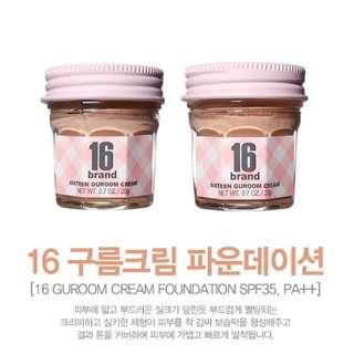16Brand Guroom Cream Foundation