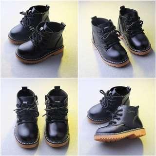 Martin Boots Kids Shoe Baby Girl Shoe Black