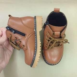 Martin Boots Kids Shoe Baby Girl Shoe Brown