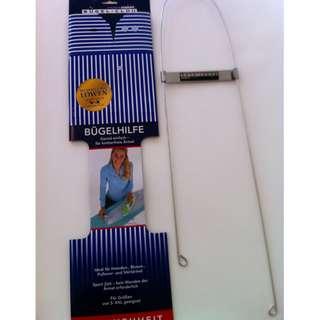 SKU#L00485Long Sleeves Ironing Aid by Sleeve Genie