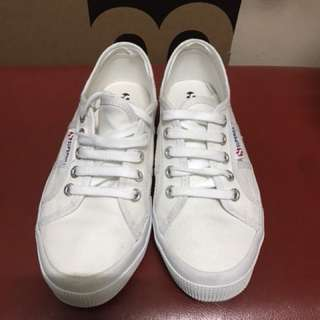 white superga