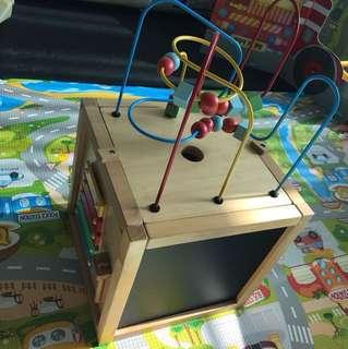 Mothercare 實木玩具箱