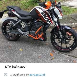 KTM Duke 2000