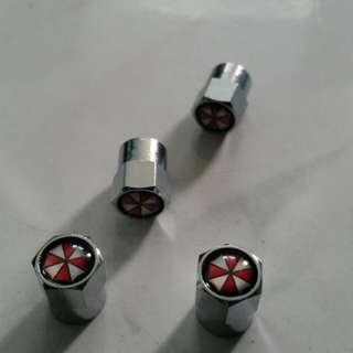 Umbrella Corp valve caps