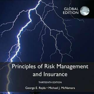 13th edition Principles of Risk Management and Insurance