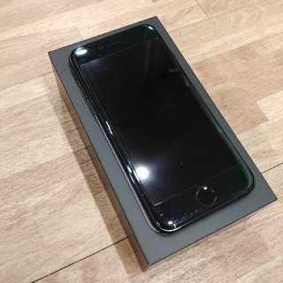 iPhone 7 曜石黑 128g 保固內