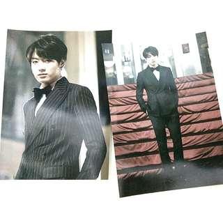 Jungkook hyyh on stage epilogue postcard set