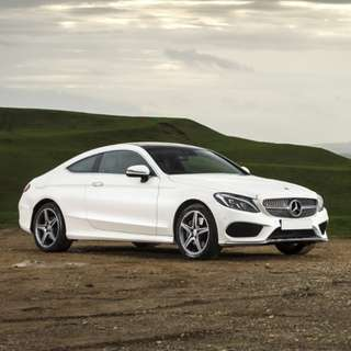 C200 coupe AMG for rent