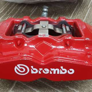 Brembo 4 Pot monobloc with Rotors