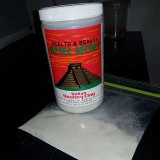 Pre packed Aztec Secret Indian healing clay