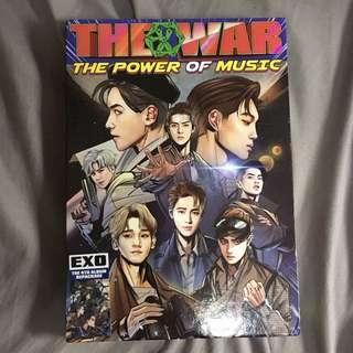 EXO THE WAR淨專