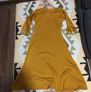 Muslimah Long dress for girls fit 7/8 yrs old