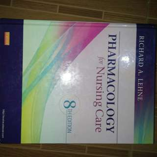 Pharmacology Nursing Book