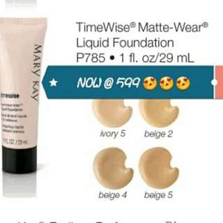 Mary kay Time wise Liquid Foundation