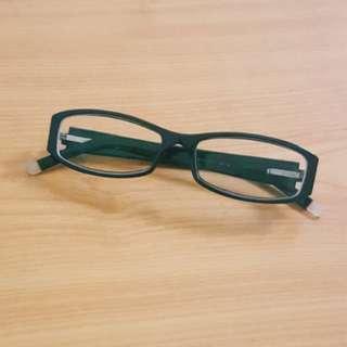 DKNY Black Retro Spectacles