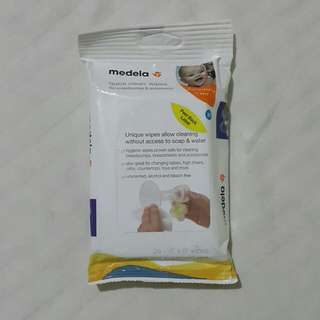 Medela Quick Clean Wipes for Breast Pumps