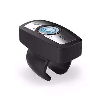 Square control mini steering wheel car Bluetooth speakerphone Multifunction steering wheel phone control car navigation