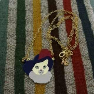 N2 貓爵士頸鏈