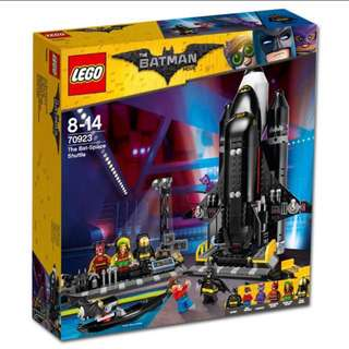 Lego 70923 The Bat-Space Shuttle Without Minifigures