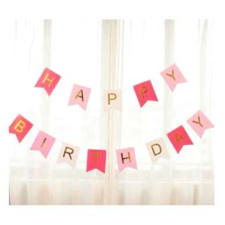 HAPPY BIRTHDAY Party Banners