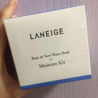 Laneige Basic & New Water Bank Moisture Kit 旅行裝