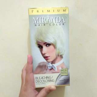 Miranda Hair Color (Bleaching)