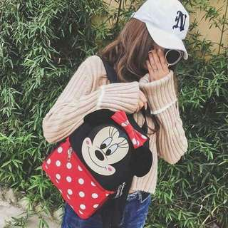 Minnie Mouse Inspired Bagcpack
