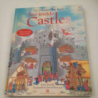 Usborne Castle with 50 flaps to lift