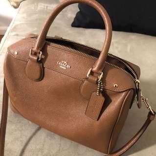 Authentic coach mini satchel