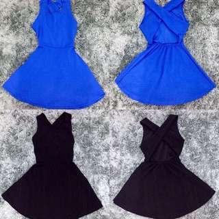 Crisscross dress