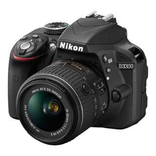 Nikon D3300 Rental