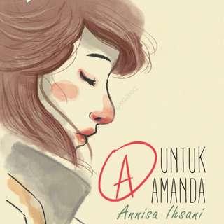 Ebook : A untuk Amanda by Annisa Ihsani