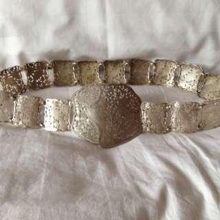 Peranakan Acehnese Silver Belt