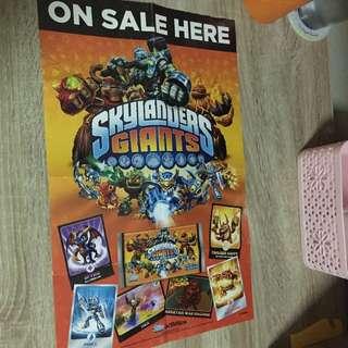 Skylanders giants poster